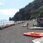 Beach at Pupetto hotel