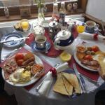 picture of the full english breakfast served at the jubilee.