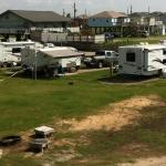 View of end row campsites (1 - 16)