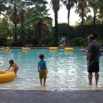 wade in to lazy river.