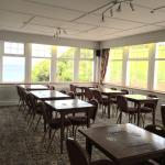 The breakfast room and restaurant