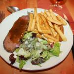 frites rosbeef sauce aux truffes