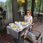 Breakfast on th terrace