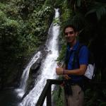 Hiking to 3 waterfalls with our personal concierge