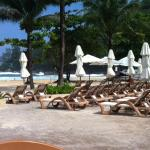 Centara Grand pool area next to Karon Beach