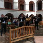 Mariachis playing