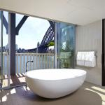 Harbour View Balcony Suite and view