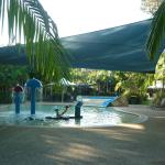 Childrens heated pool