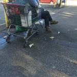 Poverty everywhere out on the surrounding streets