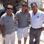 Kostas, Alex and Yiannis