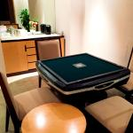 Mahjong Table in Deluxe Suite