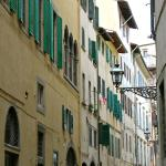 a typical street in Florence