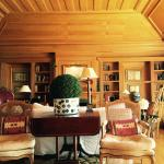 The Library overlooking the Tagus River with a little kitchenette you can use