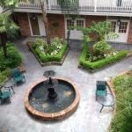 View of the inner courtyard.