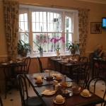 Breakfast room, excellent cooked and continental breakfast