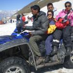 fun ride in Rohtang Pass