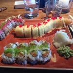 Sushi from Sun,Surf, and Sand