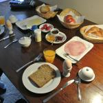 A Typical Dutch Breakfast - This was not taken at the StayOkay but is very close to their breakf