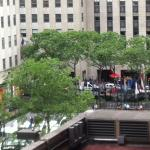 View to Rockefeller Center