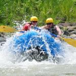 Rafting the river. The guides are skilled and have fun personalities.