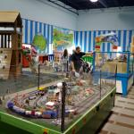 The kid's play area -- lots of fun, immaculately clean