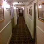 corridors with classy fitting