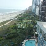 View from 7th floor oceanfront condo