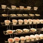appetizers in executive lounge
