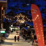 Saas Fee at night