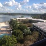 View from Bay Lake Tower Room Balcony