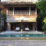Our private villa and pool