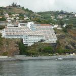 Hotel Orca Praia from the sea