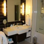 Modern bathroom in executive suite 308