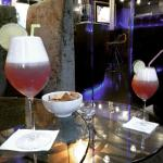 Supers cocktails au bar de l'hôtel !