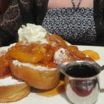 Breakfast at Planet Dailies! LARGE portions! Very yummy!