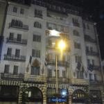 Old hotel buidling from outside