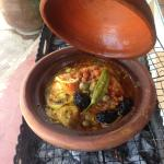 Tagine at the waterfalls