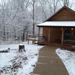 Wintertime is a great time to visit the cabins