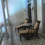 Colonial Suite balcony