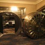 Bank vault is still in place