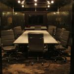 Meeting room in a former bank vault