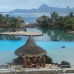 Hotel Pool with Moorea view