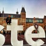 Iamsterdam letters in front of the Rijksmuseum