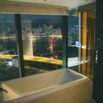 bathtub with a view