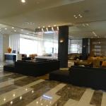Lobby area with great marble floors