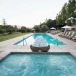 Poolside in Napa Valley