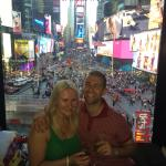 Happy times at time square