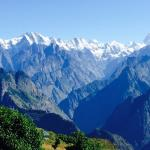 Stunning clear views of Himalayan mountains