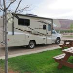 RV Site at Moab Valley RV Resort