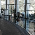 Salted water pool in the SPA
